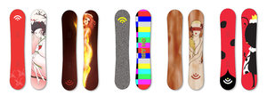 Signal Snowboard Competition Entry by AngelicaVillegas