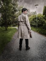Cosplay: Castiel - SPN by Angels-Leaf