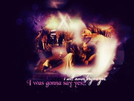 ..:I was gonna say yes:.. Lost GIrl Wallpaper by me969