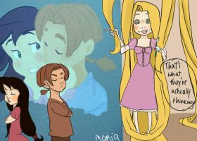 Rapunzel knows best by Ribon95