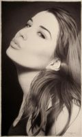 Ballpoint Pen Artwork - Gift for Telva by LopezLorenzana