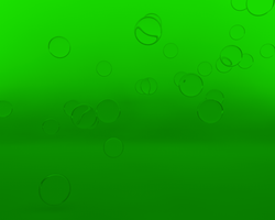 Green Bubbles by Tdecks