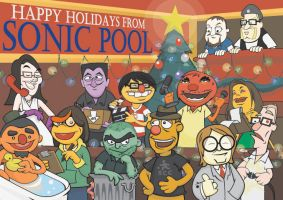 SonicPool Muppets by YourFathersMustache
