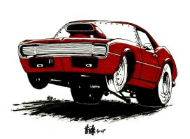 camaro by nicktheartisticfreak