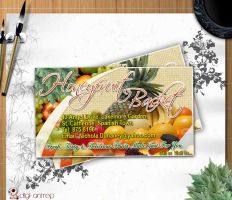Honey Fruit Buisness Card by Gallistero