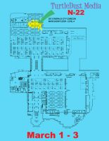 Map to my Table at Emerald City by hippybro