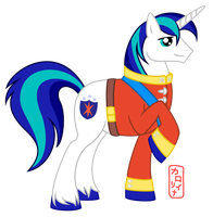 Shining armor y u so handsome? by QueenCarolina