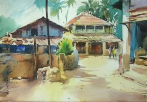 Old house in Konkan by kios18