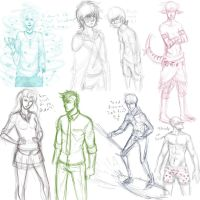 Another sketch dump by LucaiG