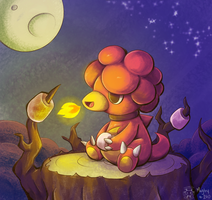 Roasting Marshmallows by Twime777