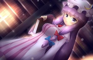 Touhou - Patchouli knowledge by KANE-NEKO