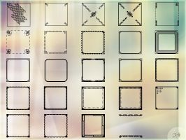 Icon template set by Morfuska