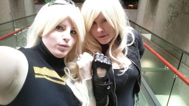Young Justice: Cassie and Dinah3 by Zeronix