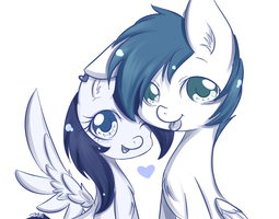 Cute couple by MrsRemi