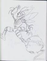 TFA Waspinator by BlueIke