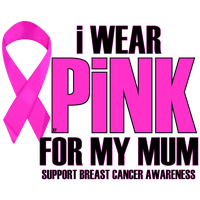 I WEAR PINK FOR MY MUM by Krazy-Purple