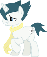 Ponified Grimsley of Pokemon by MissPepperony