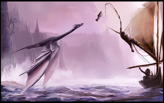 The Secret Sea Dragon by AndyFairhurst