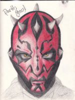 Darth Maul Head by blitzbaby87732