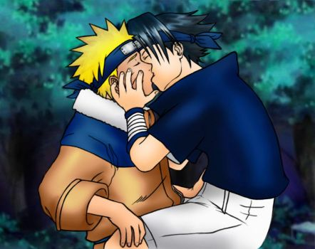 Naruto - Boys, A Kiss Between by Kagaya
