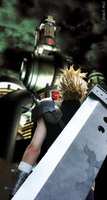 Cloud Strife SOLDIER 1st Class by MrManson86