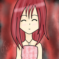 Kairi - Happy by CrimsonCasia