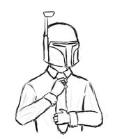Boba Fett - Serious Business by DracoSkyne