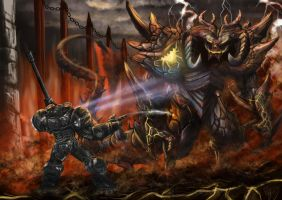 James Raynor Meets Diablo by murrojp