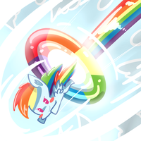 Sonic Rainboom by kty159