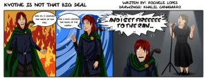 Strip - Kvothe is not a big deal by Chronokhalil