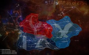 Helios Chronicles Starmap by daTSchikinhed
