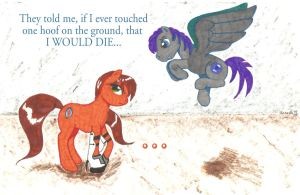 They Told Me...-Portal 2-MLP by Jenovaii
