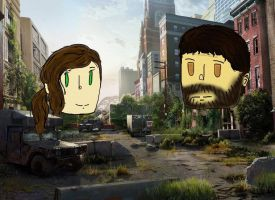 The Last of Us: Ellie and Joel by Jessipoodle