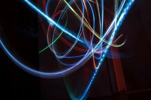 Lightpainting by AuroraxCore