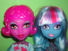 Two create Monsters by fanmonsterhigh