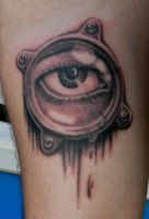 Eye tattoo by Sirius-Tattoo