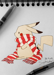 Pika-Scarf by spider999now