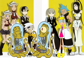 The New Soul Eater Crew by Kanglovesme