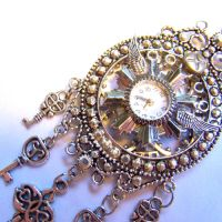 Epic Clock Steampunk Necklace by SteamSociety