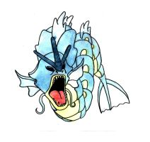 Gyarados by Hunchdebunch