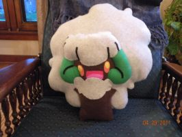 Whimsicott pillow by Vixeatsyourface