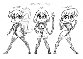 The Neme-Sis by Frogwalker