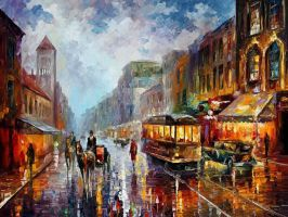 Los Angeles 1925 by Leonidafremov