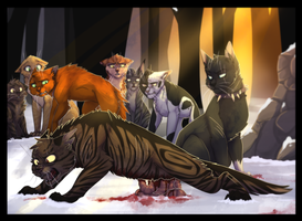 The End of Tigerstar by ninetail-fox