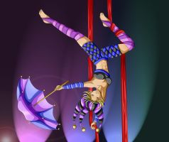 Circus Alacrity Commission by Bastet-sama