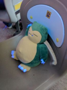 Snorlax at the Bowling Alley by NovaKaru