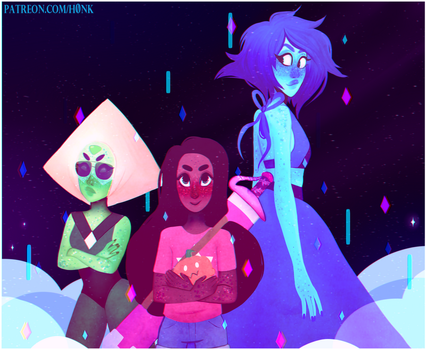Steven Universe || New Crystal Gems [Speedpaint] by Vit4l