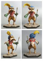 labyrinth Sir Didymus sculpture colors by yotaro76