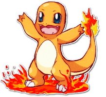 004 Charmander by SarahRichford