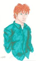 Red haired man by Kippur